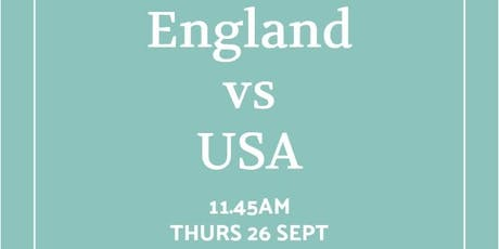 Rugby World Cup 2019 - England v USA tickets