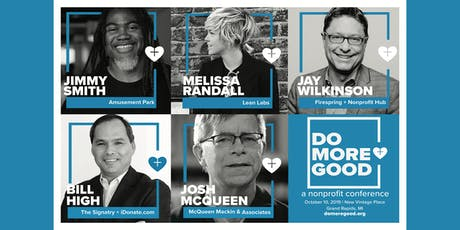 DO MORE GOOD Nonprofit Conference tickets