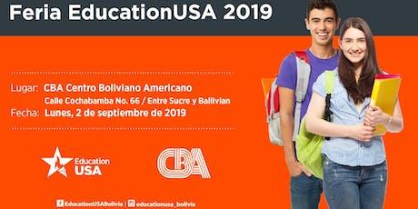 Feria EducationUSA 2019 - Santa Cruz tickets