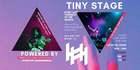 TIny Stage Unplugged tickets