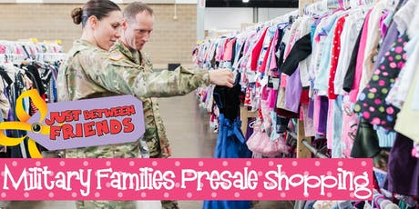 Military Presale (FREE) | Just Between Friends Overland Park Winter Sale tickets
