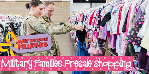 Military Presale (FREE) | Just Between Friends Overland Park Winter Sale