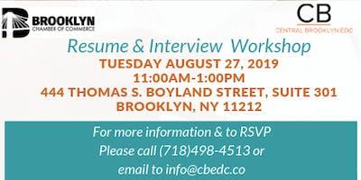 Resume & Interview Workshop