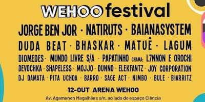 Excursão: Festival Wehoo em Recife