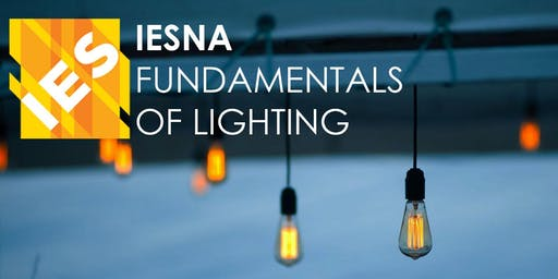 IES Fundamentals of Lighting Class 2019