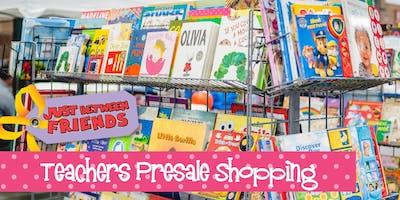 Teachers Presale (FREE) | Just Between Friends Overland Park Winter Sale