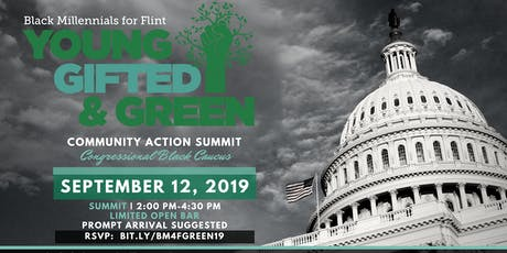 Young, Gifted & Green Community Action Summit | CBC 2019 tickets