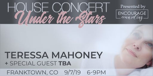 House Concert Under the Stars