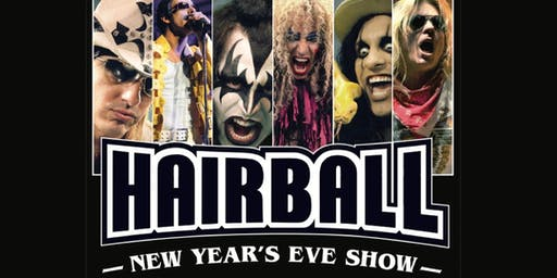 N.Y.E. with HAIRBALL w/Guest Free Fallin: Tribute to Tom Petty