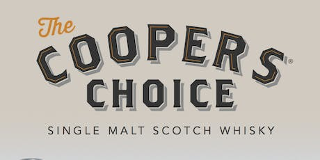 Annual Cooper's Choice Scotch Tasting - New Releases & Unique Casks tickets