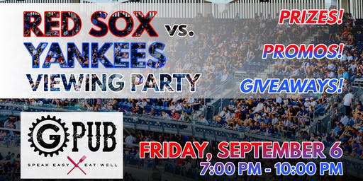 Red Sox vs. Yankees Viewing Party
