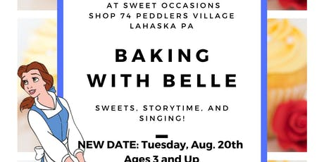 Baking with Belle: Session 3 tickets