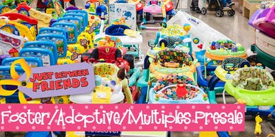 Foster, Adoptive, Multiples Presale (FREE)| Just Between Friends OP WINTER