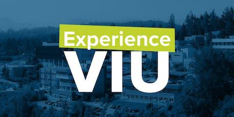Experience VIU tickets