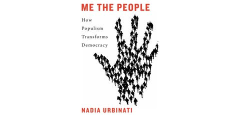 """""""Me the People – How Populism Transforms Democracy"""" - Book Launch and Discussion tickets"""