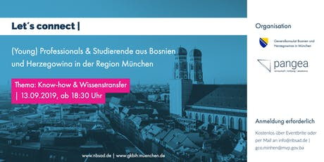 Let´s connect | (Young) Professionals & Studierende in der Region München Tickets