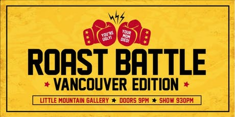 Roast Battle Vancouver: Back to School! (almost) tickets