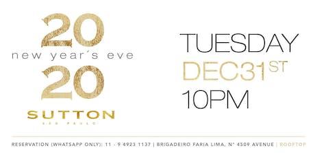Sutton - New Year's Eve 2020 ingressos