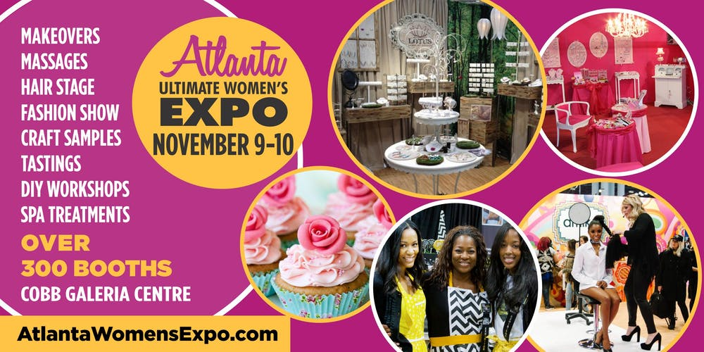 Atlanta Ultimate Women's Expo, Beauty + Fashion + Pop Up