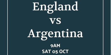 Rugby World Cup 2019 - ENGLAND v ARGENTINA tickets