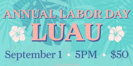 Annual Labor Day Luau at The Spread