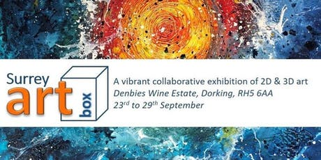 Art Exhibition - Surrey ArtBox at Denbies Vineyard tickets