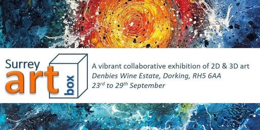 Art Exhibition - Surrey ArtBox at Denbies Vineyard