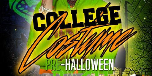 "COLLEGE PRE-HALLOWEEN BASH STARRING ""EL HITTA"""