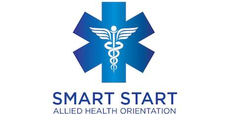 Smart Start - Allied Health Orientation tickets