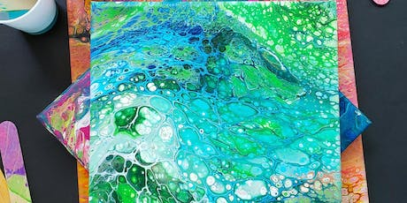 Acrylic Pouring -Flip Cup tickets