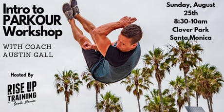 Intro to Parkour Workshop with Coach Austin Gall tickets