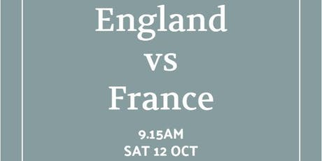 Rugby World Cup 2019 - England v France tickets