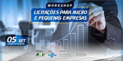 Workshop - Licitações para Micro e Pequenas Empresas