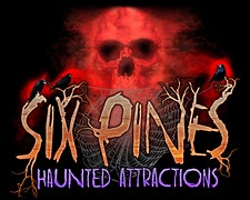 Six Pines Haunted Attractions logo