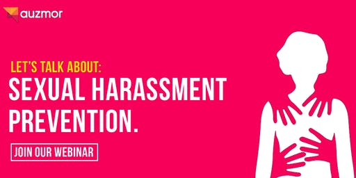 Webinar:  Sexual Harassment Prevention at the Workplace