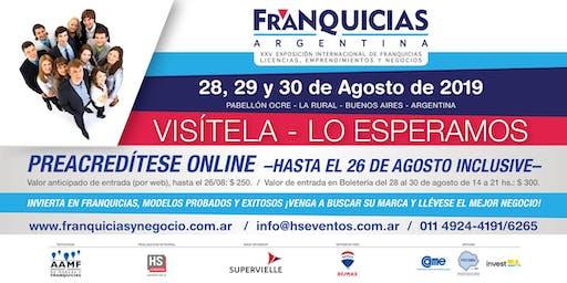 EXPO FRANQUICIAS ARGENTINA 2019