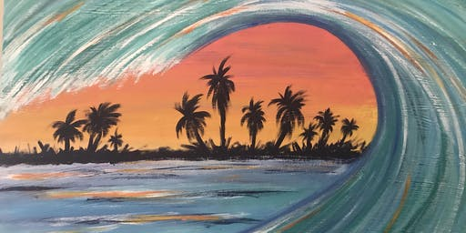 Wave Painting with Ashley Craft
