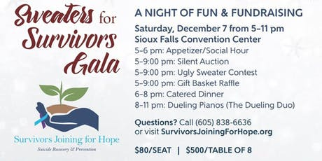 4th Annual Sweaters for Survivors Gala tickets