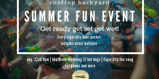 Rooftop Backyard Party featuring Cigar City