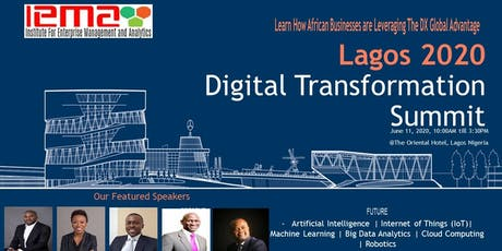 LAGOS 2020 Digital Transformation and Innovation Summit tickets