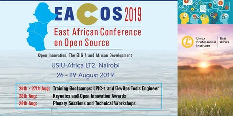 East African Conference on Open Source tickets
