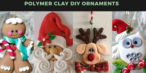 DIY Polymer Clay Ornaments