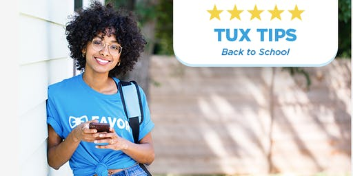 Tux Tips - Back to School