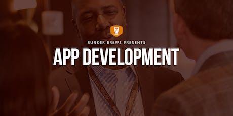 Bunker Brews DC: App Development tickets