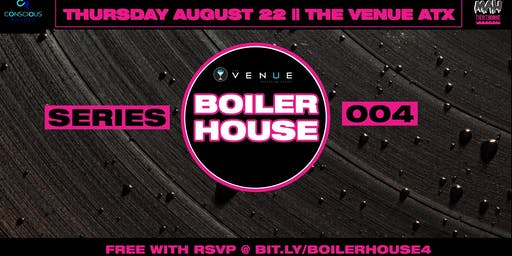 Boiler House Series 004: Conscious Raving Takeover