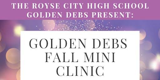 Jr. Debs Mini Clinic 2019
