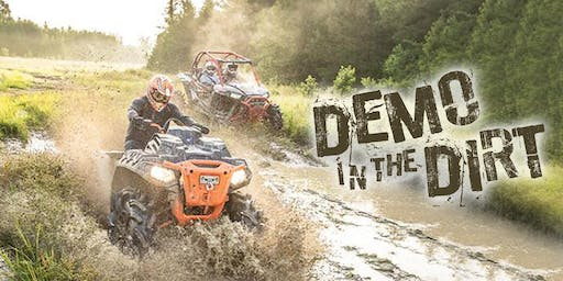 3rd Annual Demo in the Dirt - ATV/UTV Ride