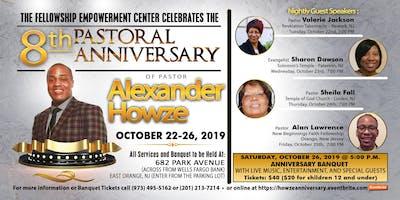 8th Pastoral Anniversary of Pastor Alexander Howze