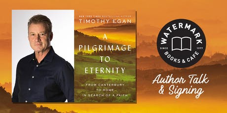 An Evening with Pulitzer Prize-Winning Reporter Timothy Egan tickets