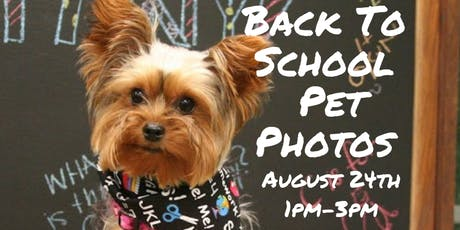 FREE Back To School Pet Photos tickets